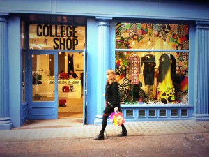 The LCF College Shop, Dec 2013