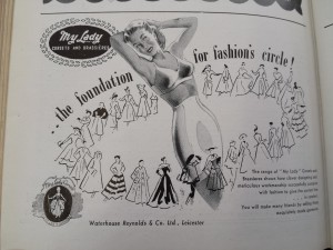 Advert from Draper's Record, 1950