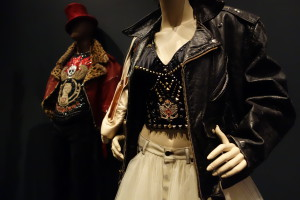 Masculine and feminine elements combined, by Jean Paul Gaultier