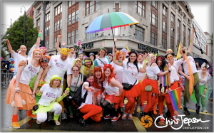 Irreverent Dance at Pride 2014. Photography by Chris Jepson.