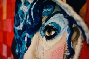 Portrait of Anna Piaggi by Jess de Wahls