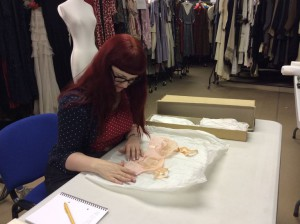 Researching at the Symington Collection in Leicestershire