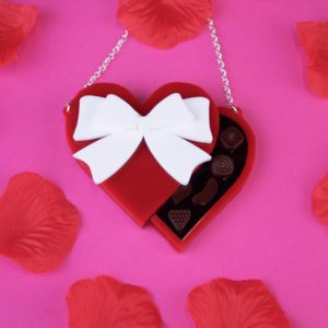 Black Heart Creatives 'Valentines Chocolate Box' necklace