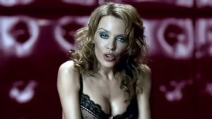 Kylie Minogue in an Agent Provocateur cinema advert, via YouTube
