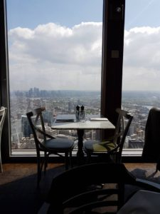 The epic view from Duck & Waffle