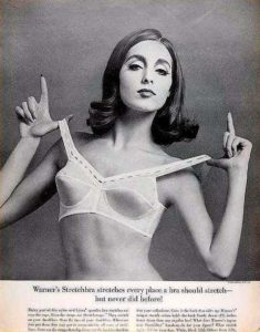 Warners Stretchbra advert from the 1960s