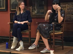 Susie Bubble in conversation with Dr Agn�s Rocamora at the 2017 Costume Society Conference
