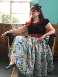 Top from Vivien of Holloway. Skirt from Love UR Look.