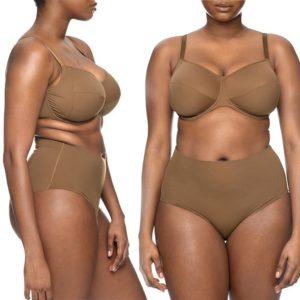 Nubian Skin 'naked bra'