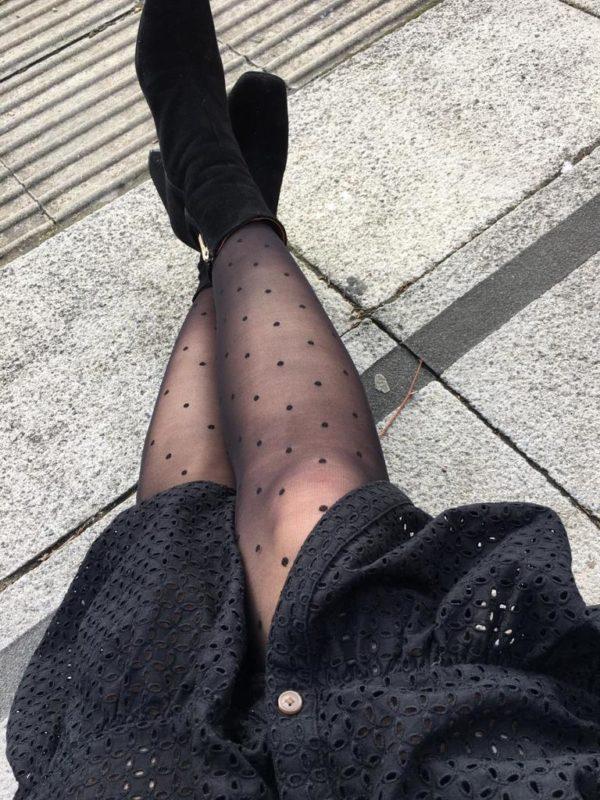 Liz's clothing when not cycling