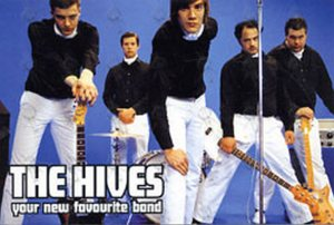 HIVES-- THE - 'Your New Favourite Band' Album Promo Postcard - 1
