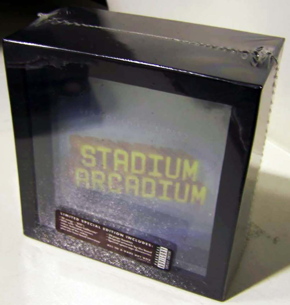 medium resolution of includes double cd album dvd in fold out digipak plus 28 page booklet band artwork pieces and special space age discoveries click title