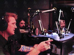 THEM CROOKED VULTURES - Colour Radio Interview Promo Photograph - 1