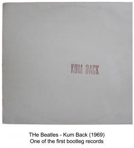 beatles kum back bootleg album