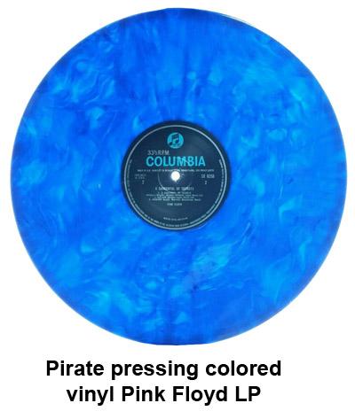 pirate pressing colored vinyl