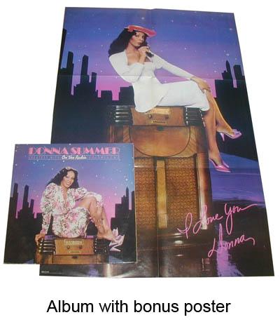 album with bonus poster