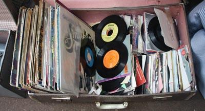 poor vinyl record storage