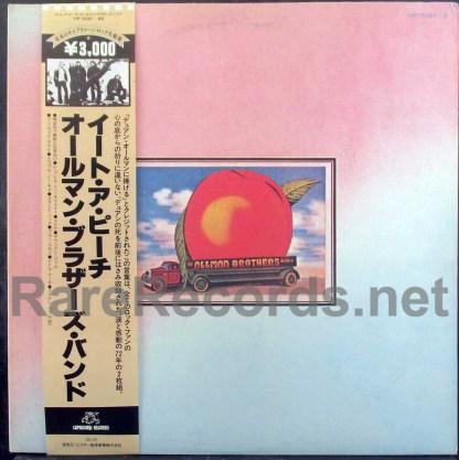 allman brothers - eat a peach japan lp
