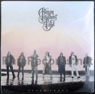 allman brothers - seven turns u.s. lp