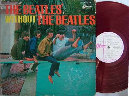 Beatles Without the Beatles japan red vinyl