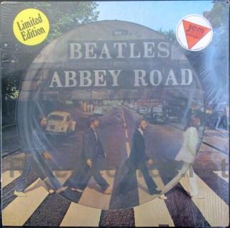 beatles - abbey road dutch picture disc lp