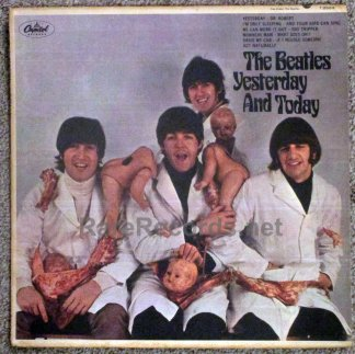 beatles - yesterday and today butcher cover lp