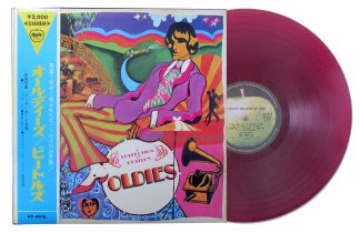 beatles - a collection of beatles oldies red vinyl japan lp