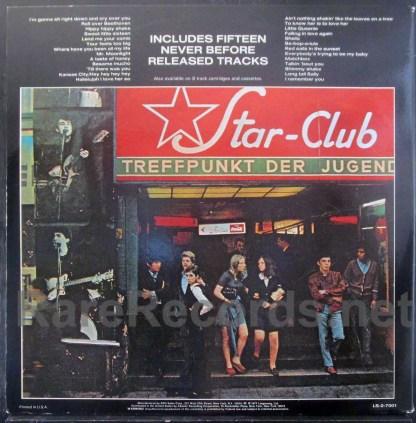 Beatles - Live at the Star Club U.S. red vinyl LP