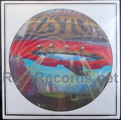 boston - don't look back u.s. picture disc lp