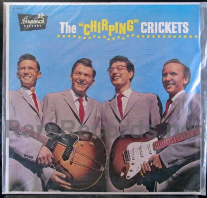 buddy holly - the chirping crickets u.s. brunswick lp