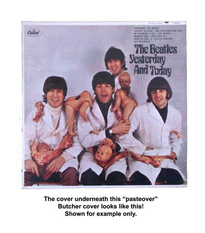 beatles butcher cover example mono