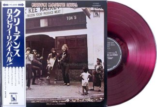 ccr - willy and the poor boys red vinyl japan lp