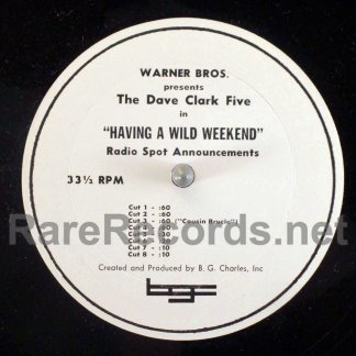 dave clark five - having a wild weekend radio spots lp