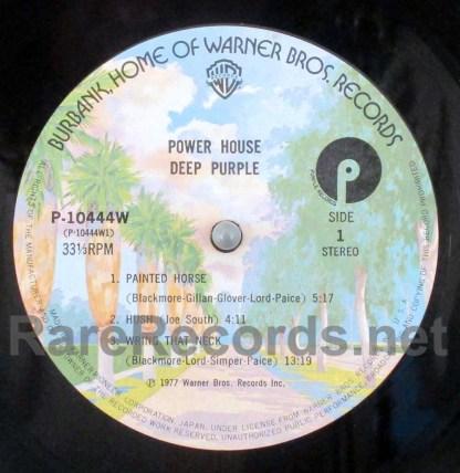 deep purple - powerhouse japan lp