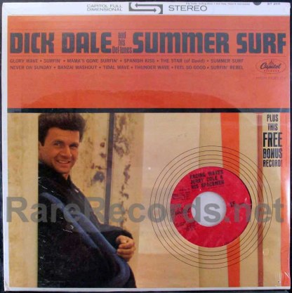 dick dale - summer surf lp