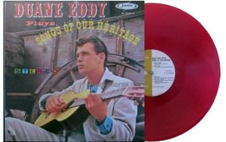 Duane Eddy - Songs of Our Heritage red vinyl u.s. lp