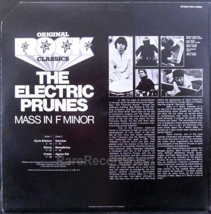 electric prunes - mass in f minor uk lp
