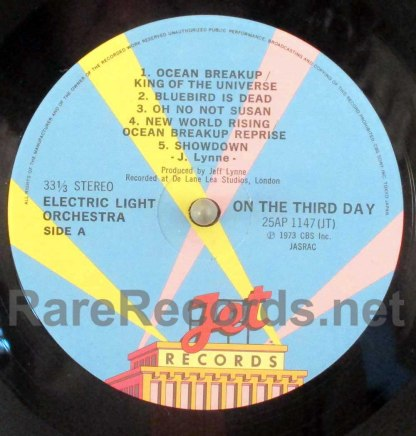 elo - on the third day japan lp