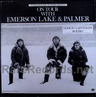 emerson lake & Palmer - on tour with radio show LP