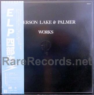 emrson lake & palmer - works japan lp