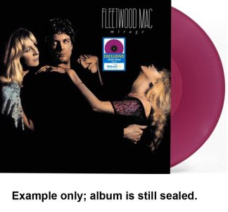 fleetwood mac - mirage violet vinyl u.s. lp