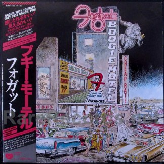 foghat - boogie motel japan lp