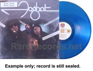 foghat - stone blue blue vinyl canada LP