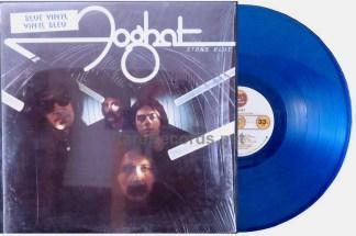 foghat - stone blue blue vinyl lp