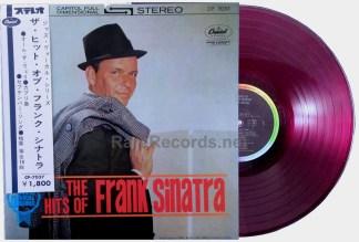 Frank Sinatra – The Hits Of Frank Sinatra japan lp