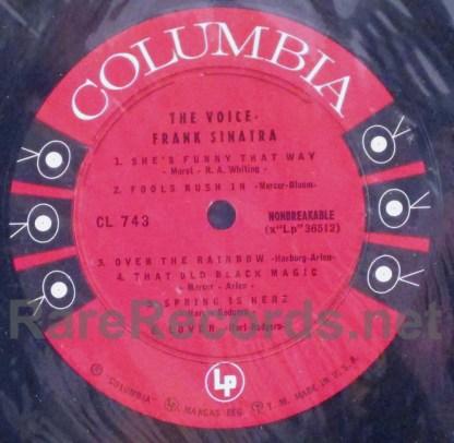 frank sinatra- the voice columbia lp