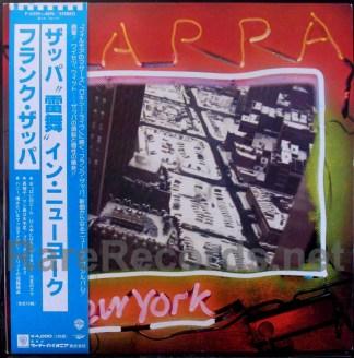 frank zappa - zappa in new york japan promo lp