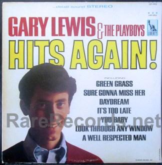 gary lewis & the playboys - hits again u.s. lp