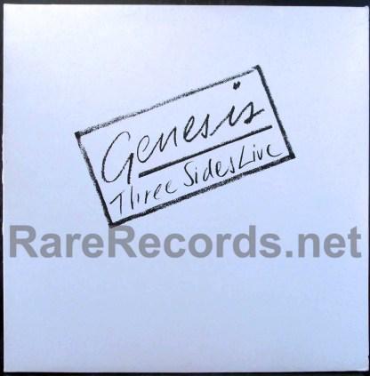 genesis - three sides live uk lp