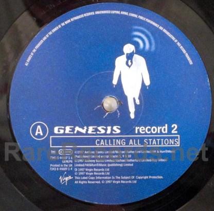 genesis - calling all stations uk lp